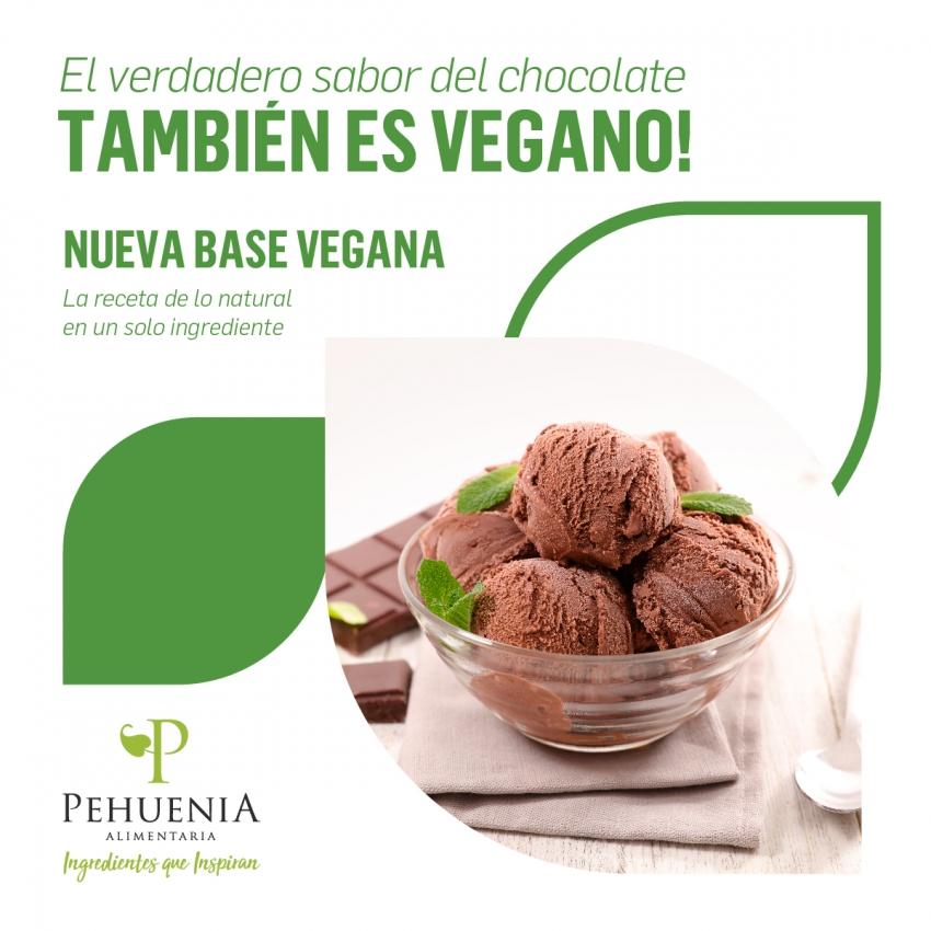 Base Vegana Chocolate